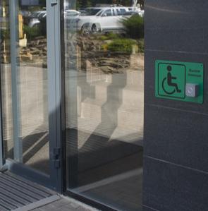 Требования по установке кнопки вызова для инвалидов